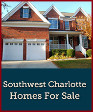 Search Southwest Charlotte homes for sale